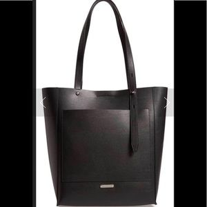Rebecca Minkoff Stella Black Leather Tote NWT